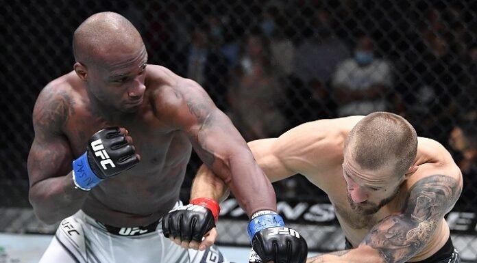 Jared Gooden and Niklas Stolze, UFC Vegas 33