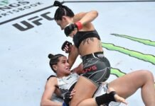 Cheyanne Buys and Gloria de Paula, UFC Vegas 33