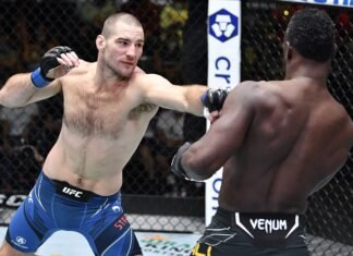 Sean Strickland and Uriah Hall, UFC Vegas 33