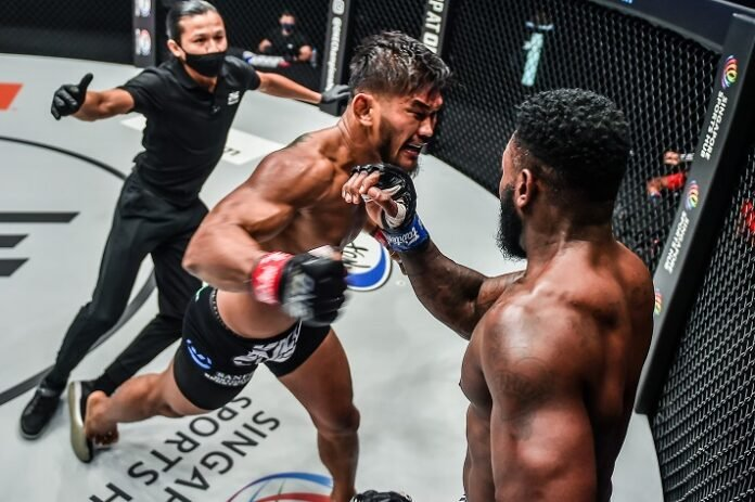 Aung La N Sang and Leandro Ataides, ONE Championship: Battleground