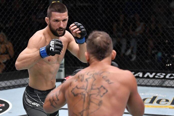 Mateusz Gamrot and Jeremy Stephens, UFC Vegas 31