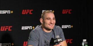 Sean Strickland, UFC Vegas 33 media day