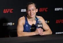 Jinh Yu Frey, UFC Vegas 33