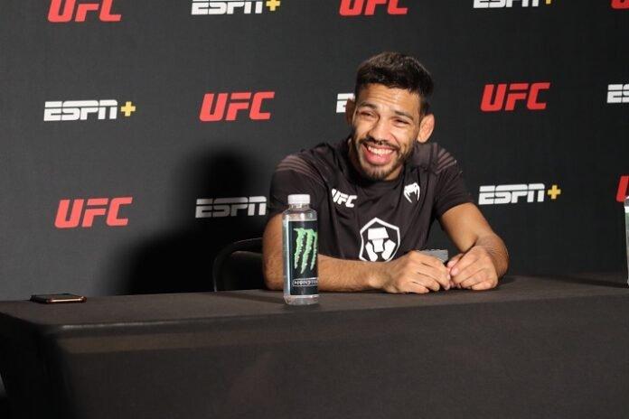 Julio Arce UFC Vegas 32