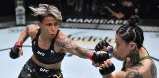 Amanda Lemos and Montserrat Ruiz, UFC Vegas 31