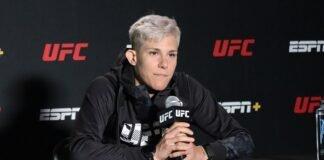 Macy Chiasson UFC Vegas 32 media day