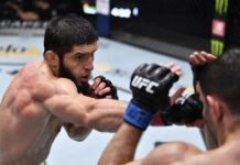 Islam Makhachev and Thiago Moises, UFC Vegas 31