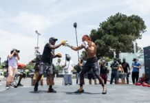 Antonio McKee and son A.J., Bellator 263 open workout