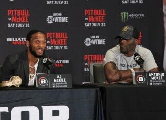 A.J. McKee and Antonio McKee, Bellator 263 press conference