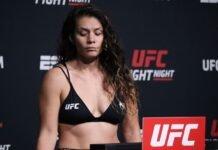 Nicco Montano UFC Vegas 33 weigh-in