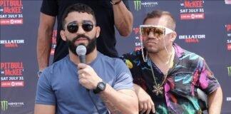 Patricio Pitbull and Eric Albarracin, Bellator 263