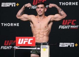 Preston Parsons, UFC Vegas 31