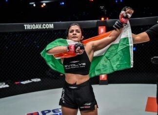 Ritu Phogat, ONE Championship: Battleground