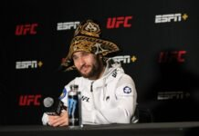 Sergey Morozov, UFC Vegas 31
