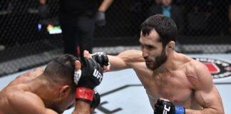 Khalid Taha and Sergey Morozov, UFC Vegas 31