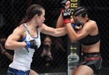 Miesha Tate and Marion Reneau, UFC Vegas 31