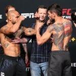 Miles Johns and Anderon dos Santos, UFC Vegas 31