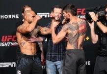Miles Johns and Anderson dos Santos, UFC Vegas 31