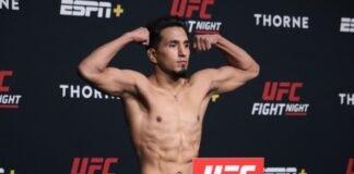 Adrian yanez, UFC Vegas 32
