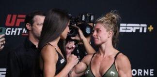 UFC Vegas 32 Diana Belbita Hannah Goldy