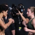 UFC Vegas 32 Elise Reed Sijara Eubanks
