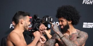 UFC Vegas 32 Julio Arce Andre Ewell