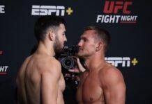 UFC Vegas 32 Nassourdine Imavov Ian Heinisch