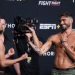 Adrian Yanez and Randy Costa, UFC Vegas 32
