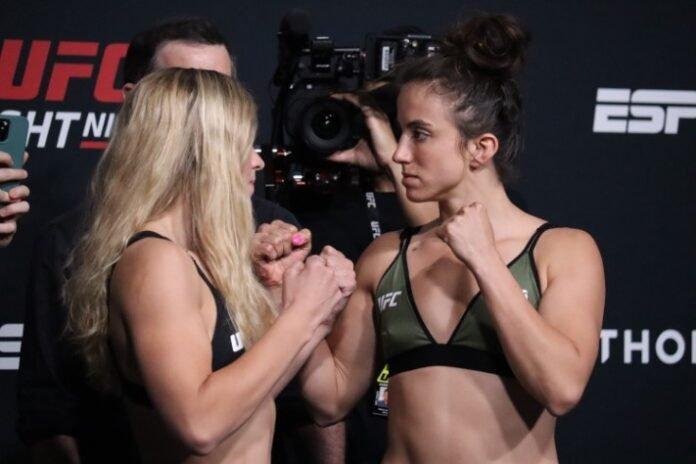 Miranda Maverick and Maycee Barber, UFC Vegas 32