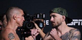 Darren Elkins and Darrick Minner, UFC Vegas 32