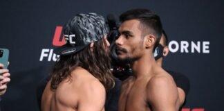 UFC Vegas 32 Kyler Phillips Raulian Paiva