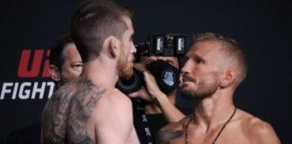 Cory Sandhagen and TJ Dillashaw, UFC Vegas 32