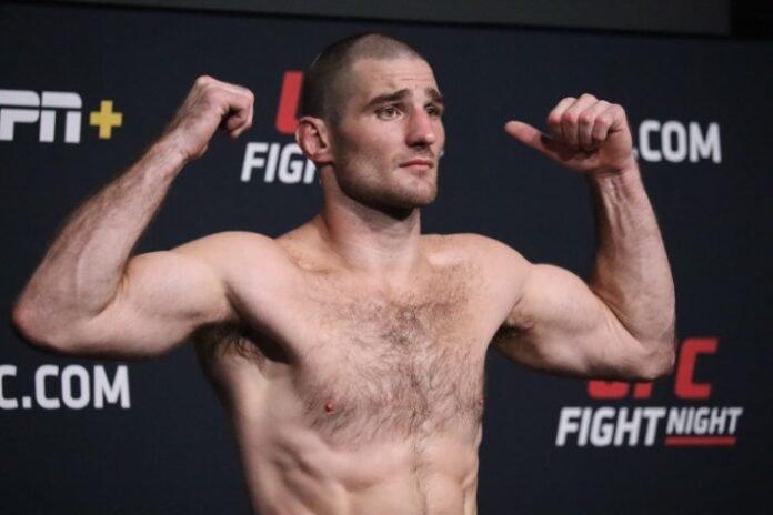 Sean Strickland UFC Vegas 33