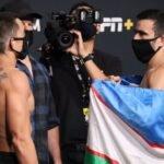 Ryan Benoit and Zarrukh Adashev, UFC Vegas 33