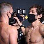 Collin Anglin and Melsik Baghdasaryan, UFC Vegas 33