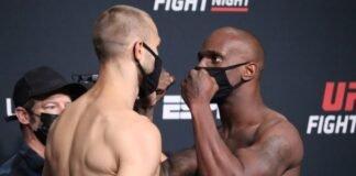 Niklas Stolze and Jared Gooden, UFC Vegas 33
