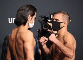 Kyung Ho Kang and Rani Yahya, UFC Vegas 33