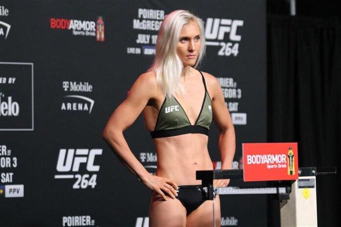 Yana Kunitskaya, UFC 264