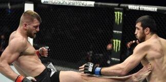 David Zawada Ramazan Emeev, UFC