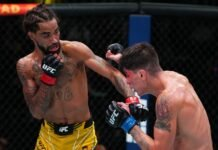 Roosevelt Roberts and Ignacio Bahamondes, UFC Vegas 34