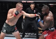 UFC Vegas 35 Dustin Jacoby