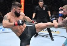 UFC Vegas 35 Andre Petroski