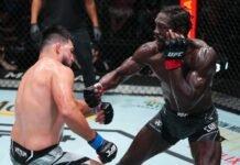 UFC Vegas 34 Jared Cannonier Kelvin Gastelum