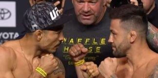 Jose Aldo and Pedro Munhoz, UFC 265