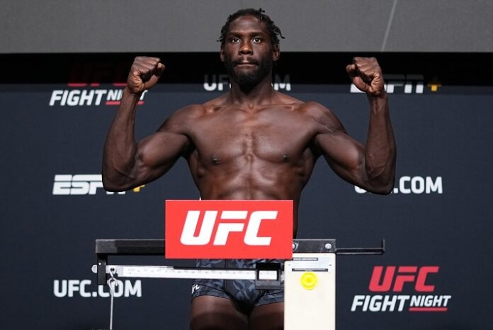 Jared Cannonier UFC Vegas 34 weigh-in