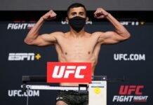Saidyokub Kakhramonov UFC Vegas 34