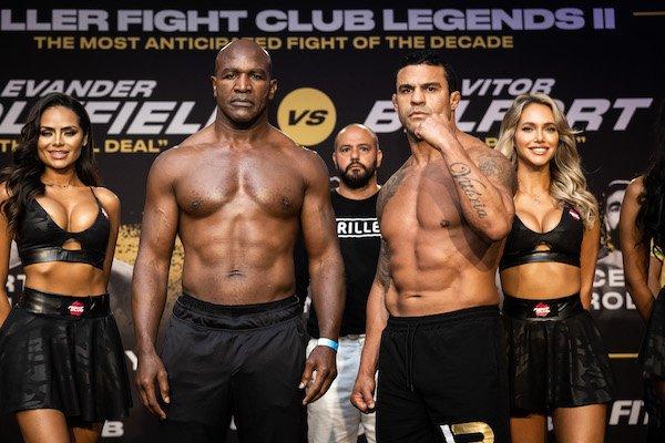 Evander Holyfield and Vitor Belfort, Triller Fight Club Legends II