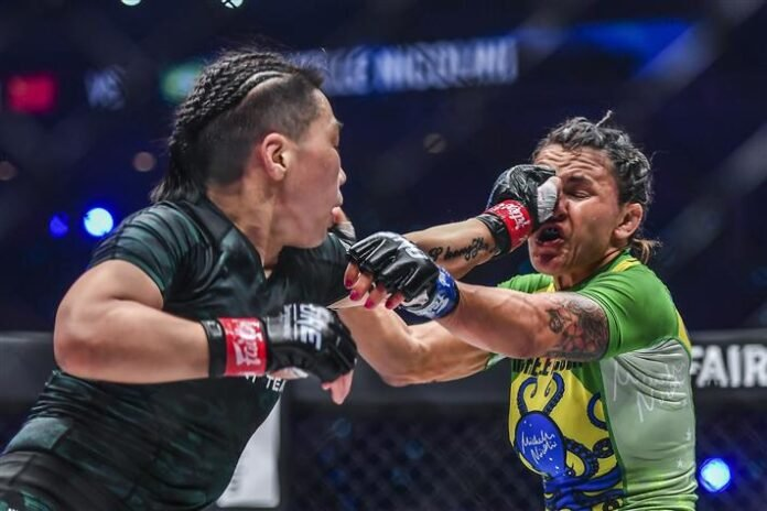 Xiong Jing Nan and Michelle Nicolini, ONE Championship: Empower