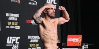 Alexander Volkanovski, UFC 266