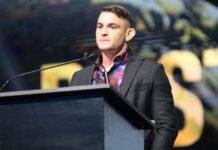 Dustin Poirier, UFC Hall of Fame Ceremony